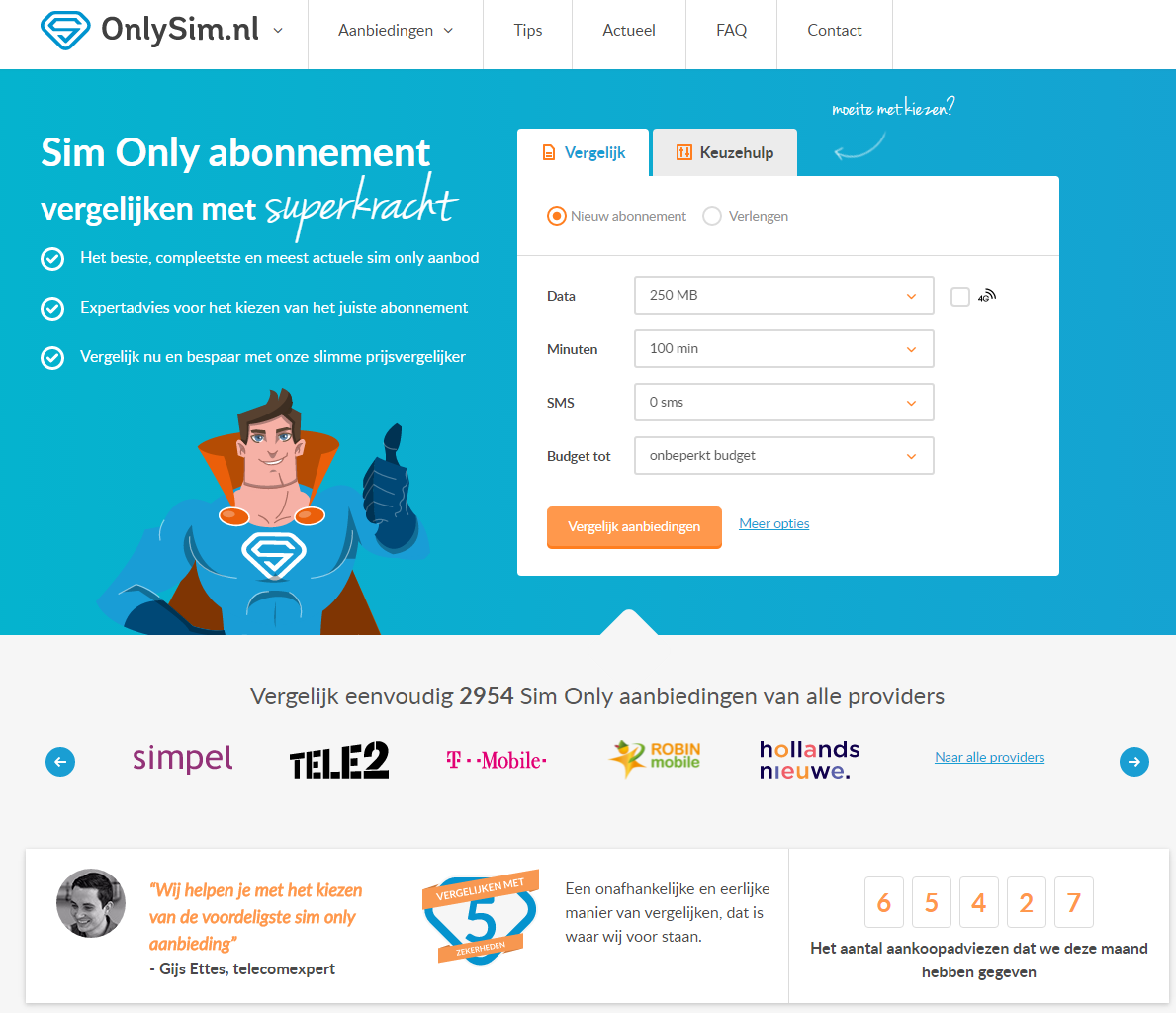 OnlySim.nl-screenshot